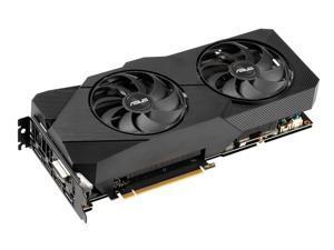 ASUS DUAL-RTX2060S-O8G-EVO-V2 - OC Edition - graphics card - GF RTX 2060 SUPER - 8 GB GDDR6 - PCIe 3.0 x16 - DVI, 2 x HD