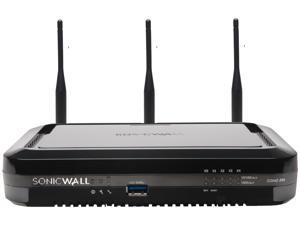 SonicWall SOHO 250 Wireless-N - Advanced Edition - security appliance - with 1 year TotalSecure - GigE - Wi-Fi - Dual Ba
