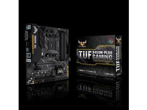 ASUS AMD TUF B450M-PLUS GAMING Socket AM4 DDR4 Micro ATX Motherboard (90MB0YQ0-M0EAY0)