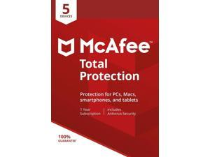 MCAFEE TOTAL PROT 5 DEVICE