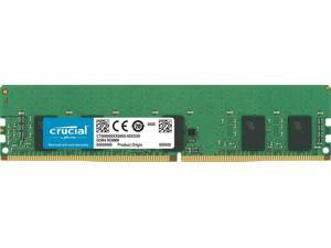 Crucial 8GB 288-Pin DDR4 2666 (PC4 21300) SDRAM ECC Registered Server Memory Model CT8G4RFS8266