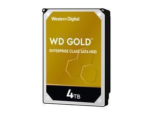 "WD Gold Enterprise-Class Hard Drive WD4003FRYZ - Hard drive - 4 TB - internal - 3.5"" - SATA 6Gb/s - 7200 rpm - buffer: 2"
