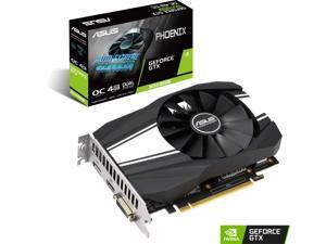 ASUS Phoenix GeForce GTX 1650 SUPER DirectX 12 PH-GTX1650S-O4G 4GB 128-Bit GDDR6 PCI Express 3.0 HDCP Ready Video Card