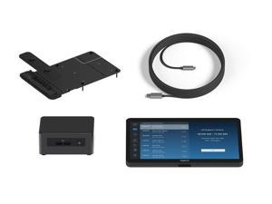 Logitech Room Solutions for Zoom include everything you need to build out conference rooms with one or two displays.  Th