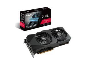 ASUS Dual Radeon RX 5700 DirectX 12 DUAL-RX5700-O8G-EVO 8GB 256-Bit GDDR6 PCI Express 4.0 HDCP Ready CrossFireX Support Video Card