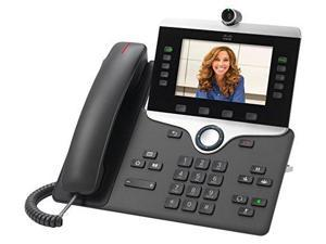 Cisco 8845 IP Phone - Wall Mountable - Charcoal - VoIP - Caller ID - SpeakerphoneEnhanced User - 2