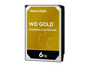 "WD Gold Enterprise-Class Hard Drive WD6003FRYZ - Hard drive - 6 TB - internal - 3.5"" - SATA 6Gb/s - 7200 rpm - buffer: 2"