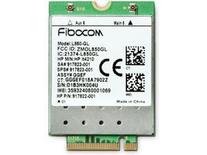 HP XMM 7360 - Wireless cellular modem - 4G LTE - M.2 Card - 150 Mbps - for EliteBook 735 G6, 745 G6, 840 G6, 850 G6, Pro