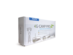 Alfa 4G Camp Pro 2+ Cellular 4G Data Booster Kit- R36AH + Tube-U4Gv2 + AOA-4G-5AM Antenna