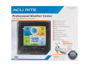 AcuRite Pro 5-in-1 Color Weather Station? Weather Station