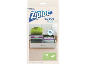 Ziploc 3Ct Large Space Bag