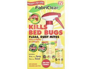 FabriClear Bed Bug Spray,  16 oz. w/ Bonus Travel Spray 2 oz.