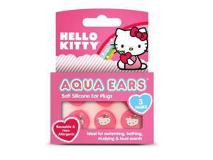 Hello Kitty - Headshot Three Pair Set Ear Plugs