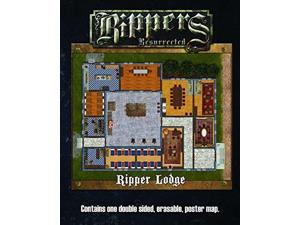 Studio 2 Publishing S2P10326 Savage Worlds Rippers Resurrected-M3 World of Rippers & Lodge