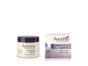 Aveeno Absolutely Ageless, Restorative Night Cream, 1.7 Ounce