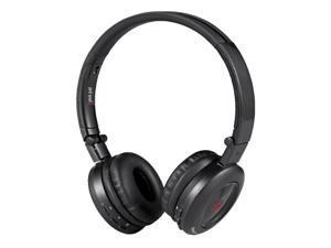 Sykik HP0201BK Pal Bluetooth Stereo Headphone, Black