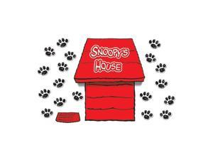 EUREKA EU-847601 GIANT PEANUTS DIMENSIONAL DOG HOUSE