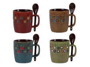 Gibson 78757.08 13oz Mr. Coffee Cafe Americano Mug Set