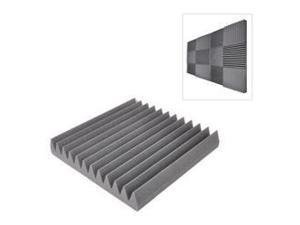 Sound Panel Studio Foam Acoustic Recording Wedge Panels, Isolation, Absorption, Audio Dampening Wall Tiles (24 Pieces)