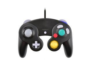 Classic Nintendo GC Gamecube Style USB Wired Controller for PC and Mac Black