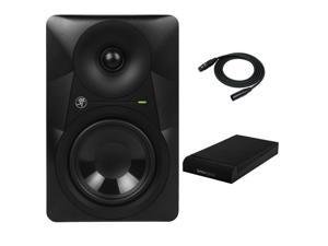 "Mackie MR524 5"" Powered Studio Monitor with Knox Isolation Pads and XLR Cable"