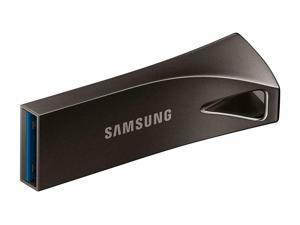 Samsung BAR Plus 128GB 300MB/s USB 3.1 Metal USB Flash Memory Drive Stick Pen Thumb --Titan Gray