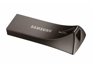 Samsung BAR Plus 64GB 200MB/s USB 3.1 Metal USB Flash Memory Drive Stick Pen Thumb --Titan Gray