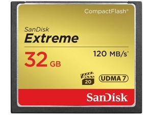 SanDisk Extreme 32GB 32G 120MB/s 800X UDMA 7 VPG-20 Compact Flash CF Memory Card