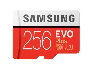 Samsung Memory Card EVO Plus 256GB 100mb/s UHS-1 Class10 C10 Micro SDXC TF Memory  Card  for 4K UHD video