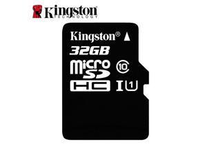 Kingston Class 10 C10 32GB 32G UHS-I 80MB/S MicroSD SDHC TF Flash Memory Card Full HD Video