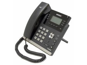 Verizon Yealink SIP-T41P Ultra-Elegant 6 Line 2 Port Ethernet 10/100 PoE VoIP SIP Phone No External Power Supply
