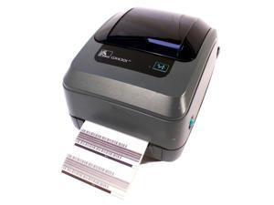 Zebra GX430T GX43-102410-000 Thermal Barcode Label Tag Printer Network USB Serial 300DPI