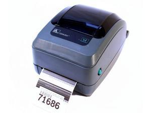 Zebra GX430T GX43-100410-000 Thermal Barcode Label Printer USB Network 300DPI