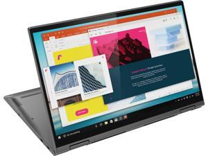 "Lenovo - Yoga C740 2-in-1 15.6"" Touch-Screen Laptop - Intel Core i5 - 12GB Memory - 256GB Solid State Drive - Iron Gray Tablet 81TD0003US"