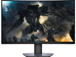 """Dell - 32"""" LED Curved QHD FreeSync Monitor with HDR S3220DGF"""