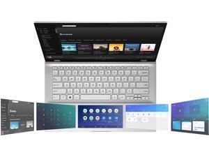 "ASUS VivoBook S14 S432 Thin and Light 14"" FHD, Intel Core i7-8565U CPU, 8 GB RAM, 512 GB PCIe NVMe SSD, IR Camera, Windows 10 Home, S432FA-AB74, Transparent Silver"