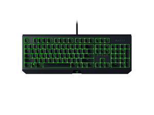 Razer BLACKWIDOW Essential Mechanical Gaming Keyboard: Green Mechanical Switches - Tactile & Clicky - Individual Key Green LED backlighting - 10 Key Anti-Ghosting - Programmable RZ03-02630200-R3U1