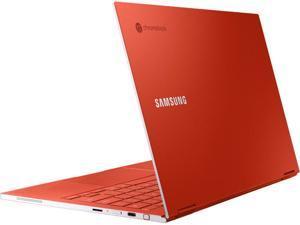 "Samsung - Galaxy 13.3"" 4K Ultra HD Touch-Screen Chromebook - Intel Core i5 - 8GB Memory - 256GB SSD - Fiesta Red Tablet Notebook Laptop XE930QCA-K01US"