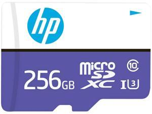 HP 256GB MX330 Class 10 U3 MicroSDXC Flash Memory Card, Read Speeds up to 100MB/S (P-SDU256U3100HPMX-GE)