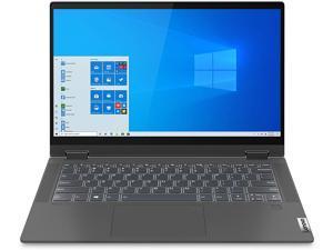 "Lenovo Flex 5 14"" 2-in-1 Laptop, 14.0"" FHD (1920 x 1080) Touch Display, AMD Ryzen 5 4500U Processor, 16GB DDR4 OnBoard RAM, 256GB SSD, AMD Radeon Graphics, Windows 10, 81X20005US, Grey Notebook"