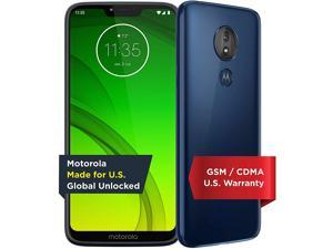 Moto G7 Power | Unlocked | Made for US by Motorola | 3/32GB | 12MP Camera | Blue Cell Phone Smart Smartphone PAEB0011US
