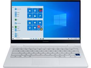"""Samsung - Galaxy Book Flex Alpha 2-in-1 13.3"""" QLED Touch-Screen Laptop - Intel Core i5 - 8GB Memory - 256GB SSD - Royal Silver NP730QCJ-K01US Tablet Notebook PC Computer"""