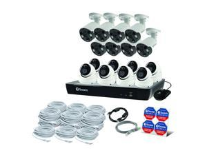 Swann 16-Channel 4K Ultra HD NVR Security System with 3TB HDD, 8 4K Dome Cameras and 8 4K Spotlight Bullet Cameras Surveillance CONV16-86808D8FB-US