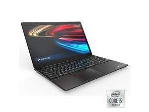 "Gateway Laptop GWTN156-1BK Slim Notebook i5 16GB RAM 256GB SSD 15.6"" Black Laptop"