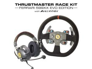ThrustMaster Ferrari Alcantara Race Bundle (PS4, XOne & Windows) Headphones and Wheel