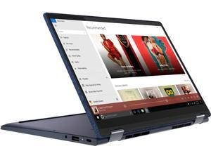 "Lenovo Yoga 6 13 2-in-1 13.3"" Touch Screen Laptop - AMD Ryzen 5 - 8GB Memory - 256GB SSD - Abyss Blue Fabric Cover 82FN003TUS Tablet Notebook PC"
