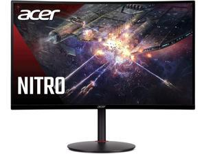 "Acer Nitro XZ270U Pbmiiphx 27"" 1500R Curved WQHD (2560 x 1440) VA Zero-Frame Gaming Monitor with Adaptive-Sync Technology, 165Hz Refresh Rate, 1ms VRB, Display Port & 2 x HDMI Ports"