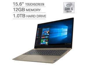 "Lenovo IdeaPad 3 15.6"" Touchscreen Laptop - 10th Gen Intel Core i5-1035G1 Notebook 81WE00LDUS 12GB Memory RAM 1TB HDD"