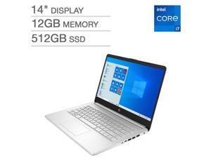 "HP 14"" Laptop - 11th Gen Intel Core i7-1165G7 - 1080p Notebook 14-dq2045cl 12GB Memory 512GB SSD"
