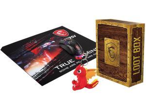 MSI 2020 Loot Box Pack_S Mouse, Mousepad, and key chain